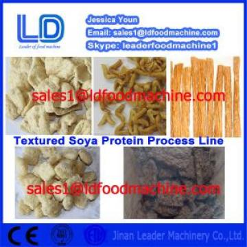 China Manufacturer Automatic Solcon S Vegetarian Soya Meat process line