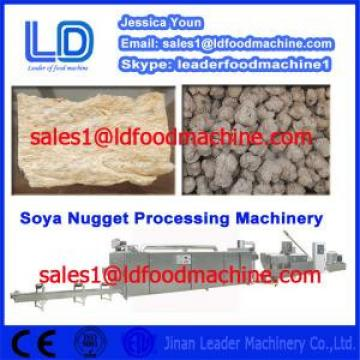 Stainless steel Automatic Vegetarian Soya Meat Prcessing Equipment made in China