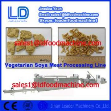 2014 hot salle Automatic Textured Soya Protein Processing machinery