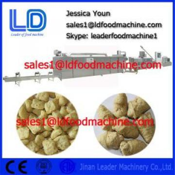 TVP TSP Soya bean protein food machine