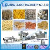 Automatic pellet and chips food equipment single screw extruder