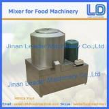 Mixers for food machinery