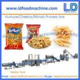 Kurkure /Cheetos /Niknak processing line,snacks food machinery