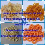 High productivity Automatic Screw/shell/chips frying food extrusion machine